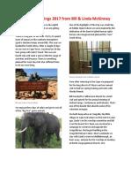 Christmas Letter 2017 PDF