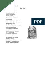 Poemas Día de Muertos