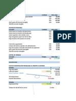 Evaluacion Financiera de Proyecto Practica 3