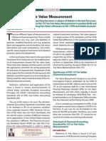 Fair Value Measurement - CA Journal April 07