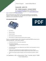 Espectrofotometro PHotoLab Serie 6000 UV VIS