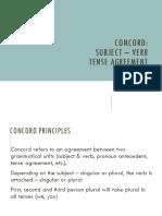 Concord Principles