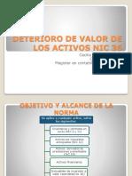 Deterioro de Valor de Los Activos Nic 36