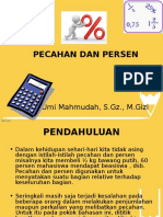 Powerpoint Pecahan Dan Persen