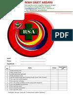 List Kelengkapan Data Karyawan
