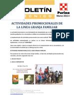 13-03 Granja Familiar - Actividades Promocionales