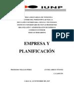 Empresa y Planificación
