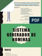 Sistema Generador de Nominas