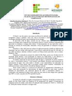 117_monitoramento de Equipamentos Alternativos Para Aquecimento Solar Da Água Na Região Metropolitana de Campinas