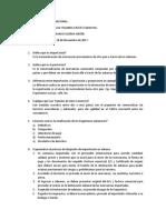 cuestionario de Comercio Internacional
