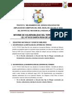 01 Informe de Vulneravilidad SANTA ROSA