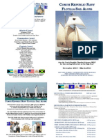 CRN Flotilla -- Key+West - George Town- Port Antonio Schedule, Registration & Sponsorship Opportunities (5x7 Program Format)