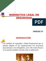 Unid.4,Normativa Legal en Seguridad