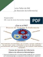 Presentación Taller de PAE ISSSTE