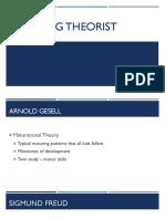 learning theorist
