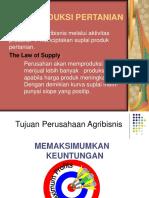 V. Ekonomi Pertanian-biaya Produksi