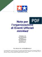 Event Ufficiali Mini4wd