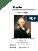 Joseph Haydn - Wikipedia, La Enciclopedia Libre