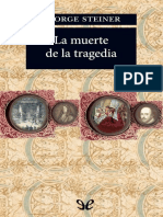 Steiner, George - La muerte de la tragedia [39988] (r1.0).epub