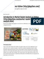 Introduction to Market Basket Analysis in Python - Practical Business Python