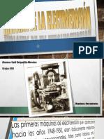 Historia de La Electroerosión