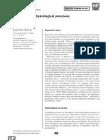 Bencala_Hyporheic Zone Hydrological Processes