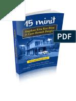 15 Minit Siapkan Kira Kos & Luas Rumah Banglo