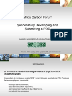Africa CArbon Forum - Carbon Management Consulting Group