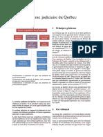 Système Judiciaire Du Québec