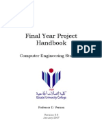 David Vernon Project Manual