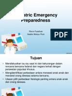 Pediatric Emergency Preparedness