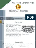Pengantar Fisika Material - Alloy (2)