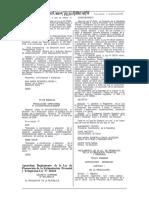 REGLAMENTO de La LEY Nº 28124_Decreto Supremo 002-2006-SA