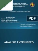Versos Sencillos Expo