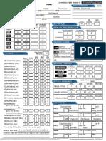 Hawke Character Sheet