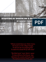 Stopping by Woods on a Snowy Evening Ppt