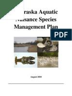 Nebraska Aquatic Nuisance Species Management Plan