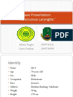 Case Presentation 3 Dr Oscar Laryngitis TB