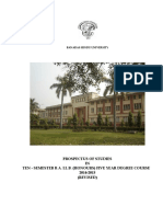 B.a.ll.B Five Years Degree Course 2014-2015