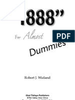 1888 for Almost DUMMIES - Robert J Wieland