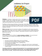 Tessellation Art Project