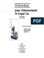 Rotary Evaporator - Rotationsverdampfer Service Manual
