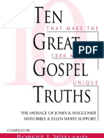 Ten Great Gospel Truth - Robert J Wieland