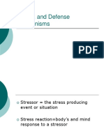 1.Stress, Frustration, & Defense Mechanisms