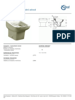 IdealStandard Trokadero Horizontalni Odvod J3772