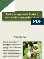 Dr.Franklin Panchakarma