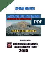 Laporan Gunung Raung 2015