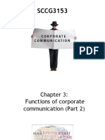 Chapter 3_Functions of Corporate Communication (Part 2_additional)