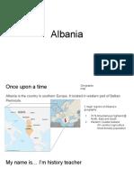 comic albania - script