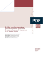 Envolving from farming systems research into a more holistic rural development approach